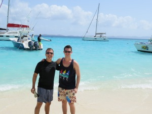 Enjoying Jost Van Dyke